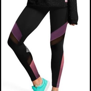 Ultimate High Waist Mesh PINK Leggings
